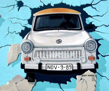 graffiti Berlijn smal