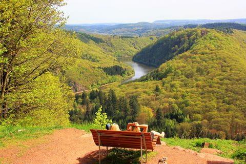 Duitsland, rivier, pauze, rust, uitzicht