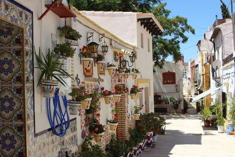 Costa Blanca, regio Alicante