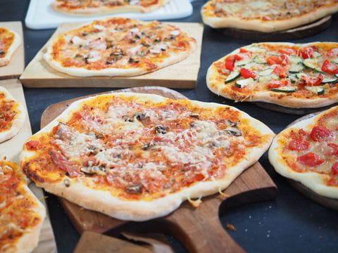 Pizza, Greve in Chianti, Toskane, Italie