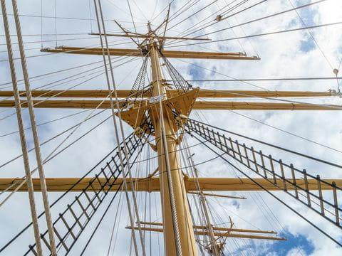 Zeilschip, mast
