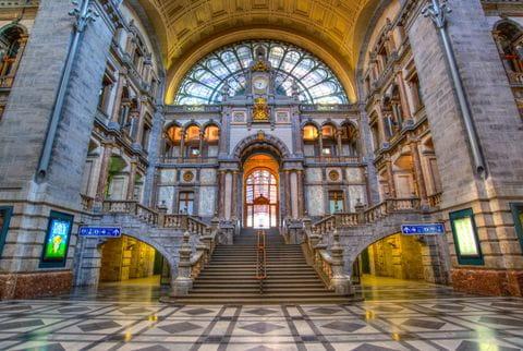 Antwerpen, Station, Belgie