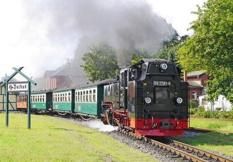 Rügen, locomotief