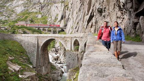Gotthard massief, Zwitserland