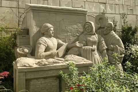 Garderen, Zandsculpturen