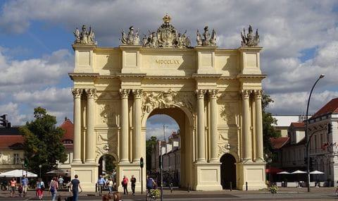 Brandenburger Tor in Potsdam, Duitsland