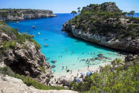 Mallorca baai