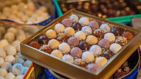 Truffel, Chocolade