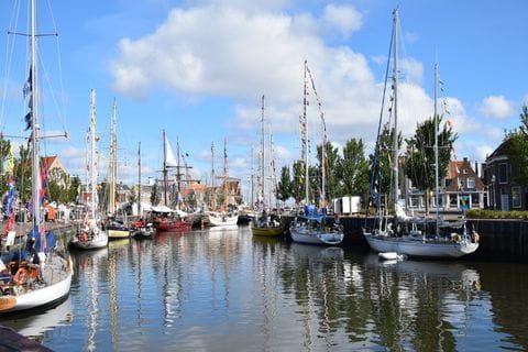 Harlingen, Friesland, Nederland