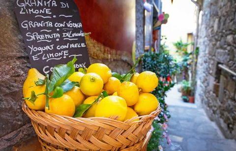 Citroen, Italie, Limoncello