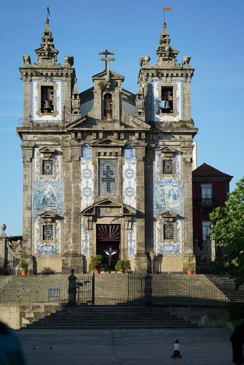 Igreja de Santo Ildefonso, Porto, Portugal, kerk van Sint Ildefonsus