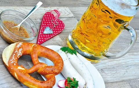 Bier, Pretzel, pauze