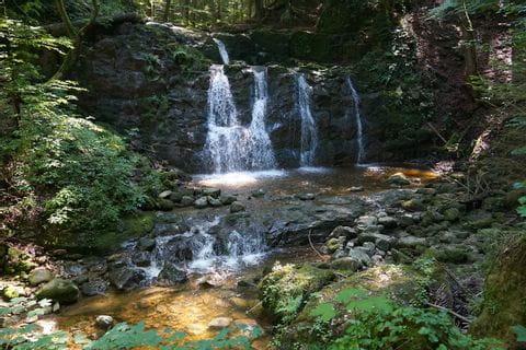 Oostenrijk Obertrum, Seeham, Salzburgerland, Wildkar Wasserfall