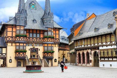 Wernigerode, Harz, Ostharz, Hars, Duitsland