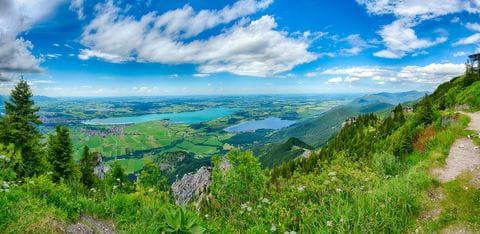 Forggensee, Fussen, Duitsland