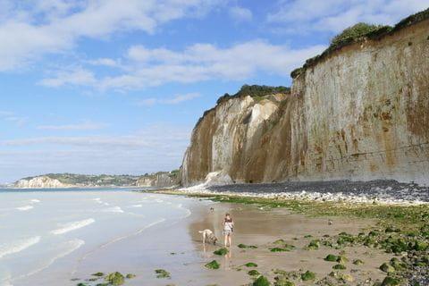 Normandie cliff
