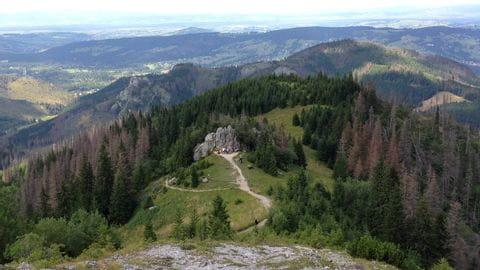 bergpad hoge tatra