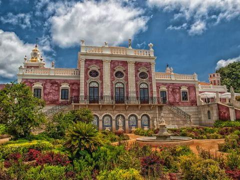 Estoi, paleis, Algarve, Portugal