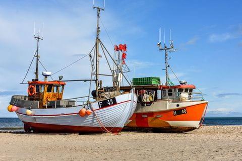 Visserboot-strand-Denemarken