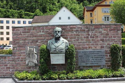 Liechtenstein monument