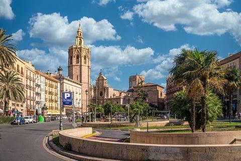 Oude stad, Valencia, Spanje