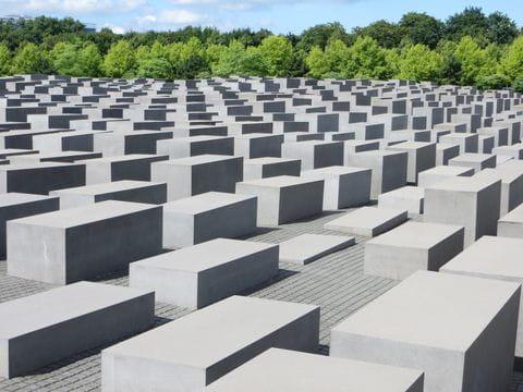 Holocaust gedenkmonument, Berlijn, Duitsland