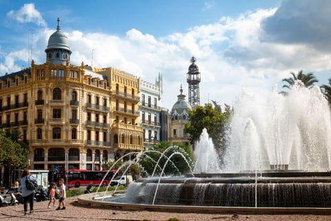 Fontein Valencia, Spanje