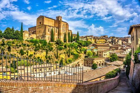 Siena, Toscane, Italie