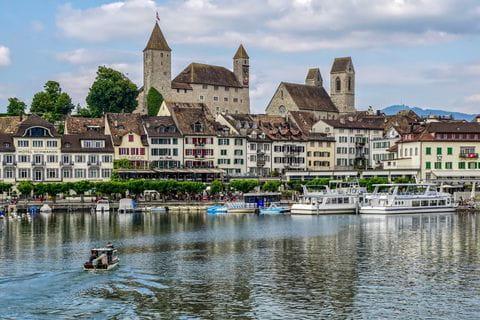 Rapperswil, Zurichsee, Zurich, Zwitserland