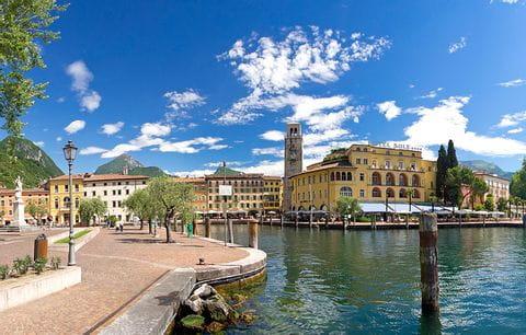 Riva del Garda, Gardameer, Italie