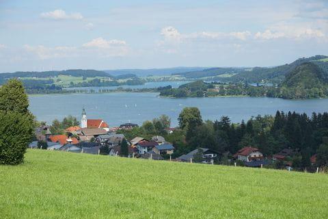 Oostenrijk, Seeham, Salzburgerland, Obertrummersee, Mattsee, Grabensee