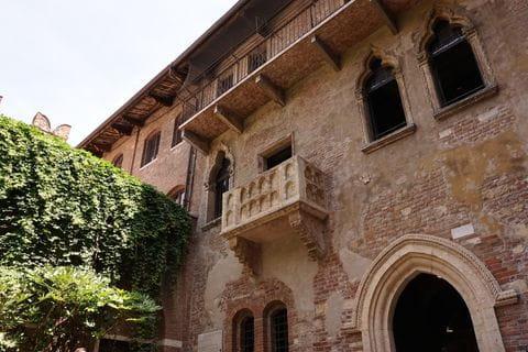 Casa di Giulietta, balkon Romeo en Julia, Verona, Italie