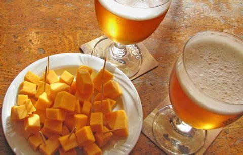 Bier, Kaas, Pauze