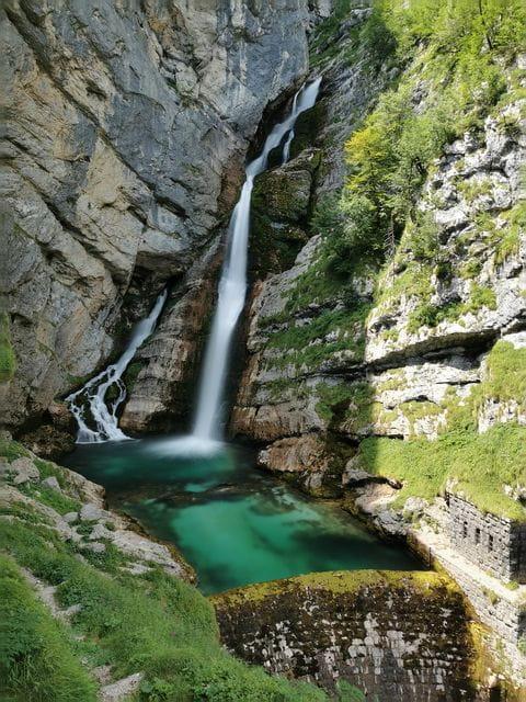 Savica waterval, Slovenie