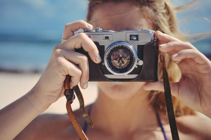 fotografe met camera